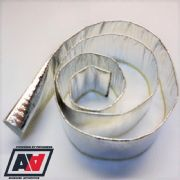 Fire Sleeve For Pipe Hose Wire Protection From Radiated Heat 35mm ID 2 Metres